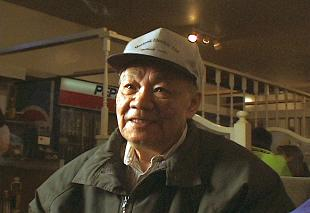 Jim Kook with baseball cap