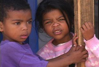 Two Malagasy kids